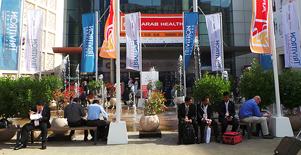 "International exhibition ""Arab Health 2013"""
