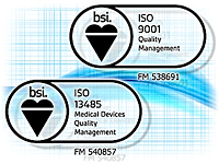 International standards ISO 9001 and ISO 13485