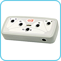 Patient button unit for detecting patient's response to presented stimulus