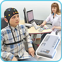 Low-channel portable electroencephalograp-recorder