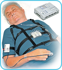 Gerät Reakor-T für Apnoe-Screening