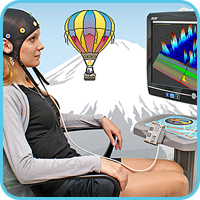 """Dispositivo """"Rehacor-T"""" para entrenamiento con biorretroalimentación y control neurobiológico"""
