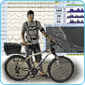 Multifunctional and multichannel polygraphic system for sports medicine and scientific research