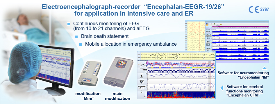 EEG neuromonitoring in intensive care and ER